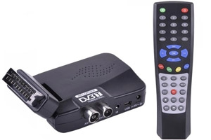 Tuner cyfrowy LC-DVB-T 450 SD